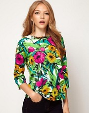 ASOS Jumper In Floral Print