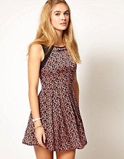 Pepe Jeans Animal Print Dress