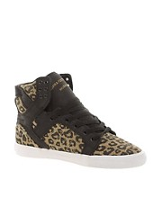 Supra Skytop Cheetah High Top Sneakers