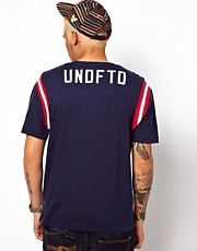 Undefeated T-Shirt Football Back Logo