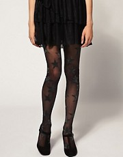 House Of Holland For Pretty Polly Superstar Lurex Limited Edition Tights