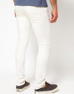 Image 2 ofASOS Super Skinny Jeans In White