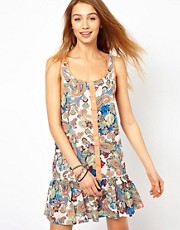 Minkpink The Lost Ones Dress In Paisley Print