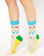 Calcetines con lunares Disco de Happy Socks