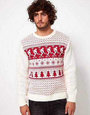 Image 1 ofRiver Island Christmas Jumper