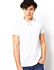 Religion Polo with Collar Studs