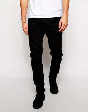 Ben Sherman Slim Jeans in Black Stretch