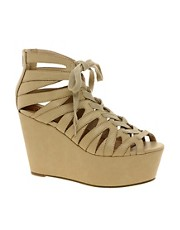ASOS HOLLOWAY Wedges