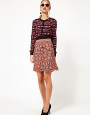 M Missoni Signature Knitted Skirt