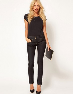 Image 4 ofASOS PETITE Exclusive Super Sexy Skinny Jeans