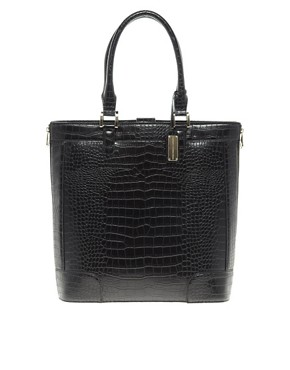 Image 1 ofFrench Connection Camden Croc Shopper