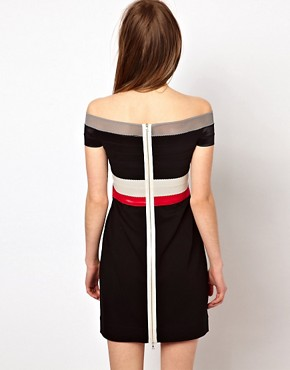 Image 2 ofMarkus Lupfer Elastic Bandeau Dress