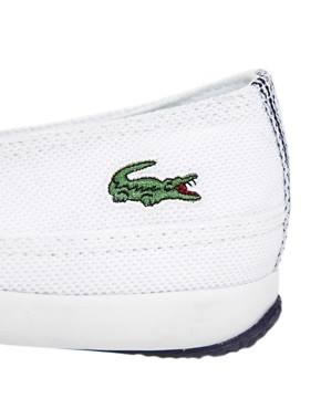 Image 2 ofLacoste Reiti White Plimsolls