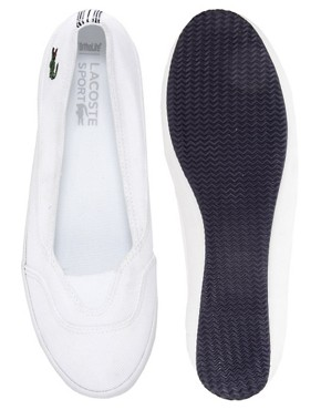 Image 3 ofLacoste Reiti White Plimsolls