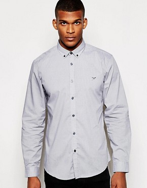 Threadbare Micro Print Shirt