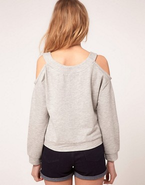 Image 2 of ASOS PETITE Exclusive Break The Rules Sweat