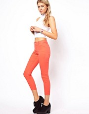 ASOS Crop Trousers in Twill