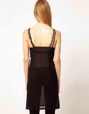 Image 2 ofGanni Almost Nude Strappy Slip Top