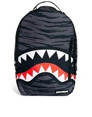 Sprayground - Zaino tigrato con squalo
