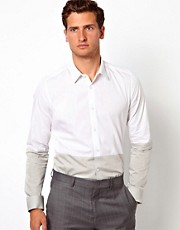ASOS Smart Shirt With Cut And Sew Detail