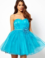 Little Mistress - Prom dress in organza con scollo a cuore