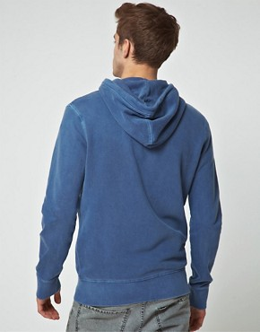 Bild 2 von Jack & Jones  Gewaschener Kapuzenpullover mit Reiverschluss