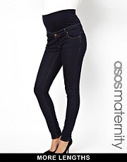 ASOS Maternity Elgin Skinny Jean With Jersey Waistband