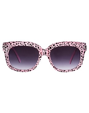 Image 2 ofAJ Morgan Charmer Cheetah Sunglasses