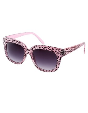 Image 1 ofAJ Morgan Charmer Cheetah Sunglasses