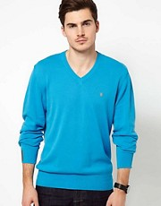 Fenchurch V-Neck Jumper
