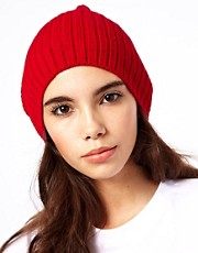 ASOS Short Rib Beanie Knit Beanie