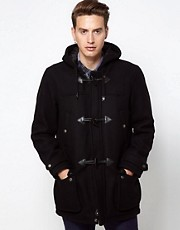 Schott Duffel Coat In Wool