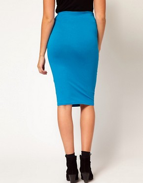 Image 2 ofASOS Maternity Jersey Pencil Skirt
