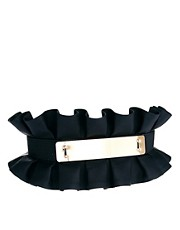 ASOS Pleated Plate Waist Belt