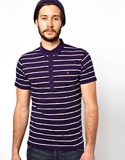 Farah Vintage Polo with Stripe
