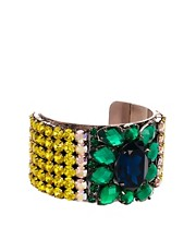 Brazalete de mueca con pedrera de ASOS