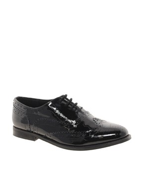 Image 1 ofASOS MARKY Leather Brogues