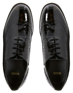 Image 2 of ASOS MARKY Leather Brogues