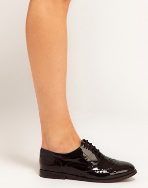 Image 3 ofASOS MARKY Leather Brogues