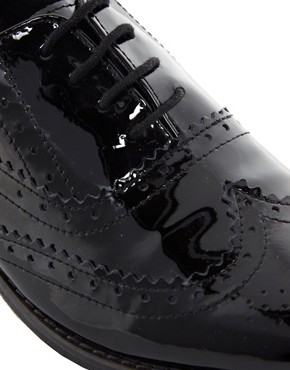 Image 4 ofASOS MARKY Leather Brogues