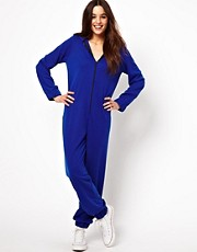 Glamorous Zip Thru Onesie with Ears