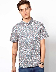 Revolution Short Sleeve Shirt With Allover Floral