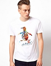 Original Penguin T-Shirt with Artist&#39;s Pallete Graphic