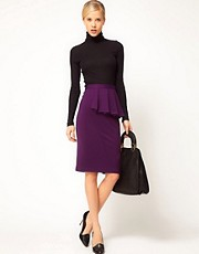 ASOS Side Peplum Pencil Skirt