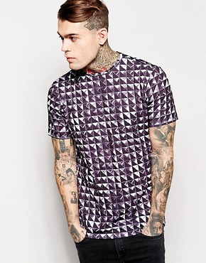 Jaded London T-Shirt In Stud Print