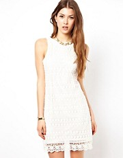 Lipsy Crochet Shift Dress