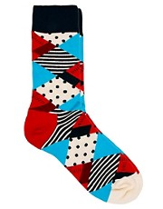 Happy Socks Multi Patterned Socks