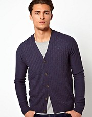 ASOS  Strickjacke mit Zopfmuster