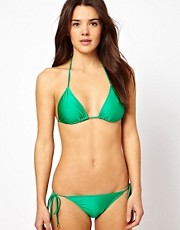 Insight Solid Triangle Bikini Set