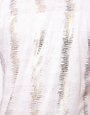 Image 3 ofUnconditional T-Shirt with Metalic Fern Print